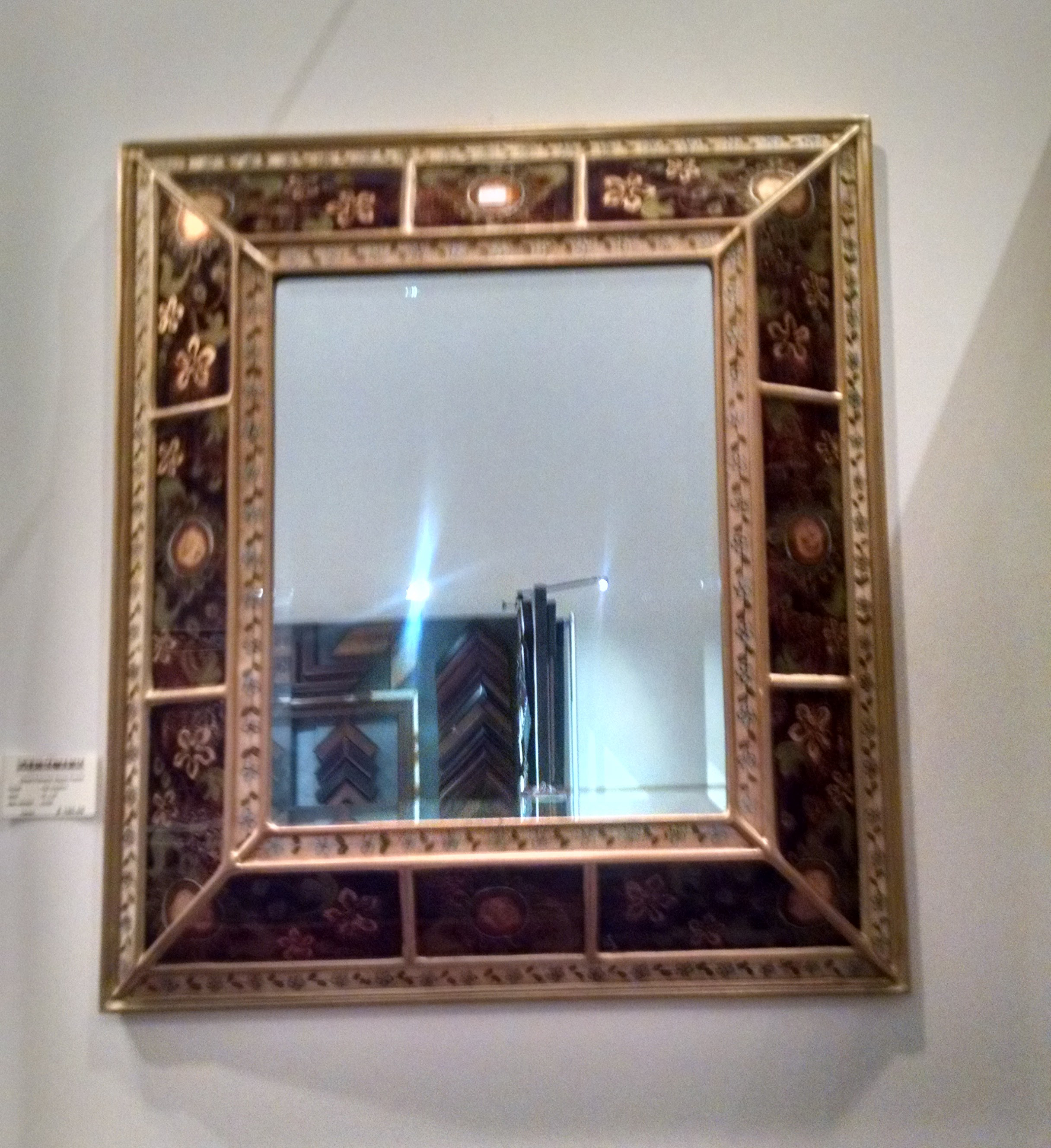 Custom mirror framing