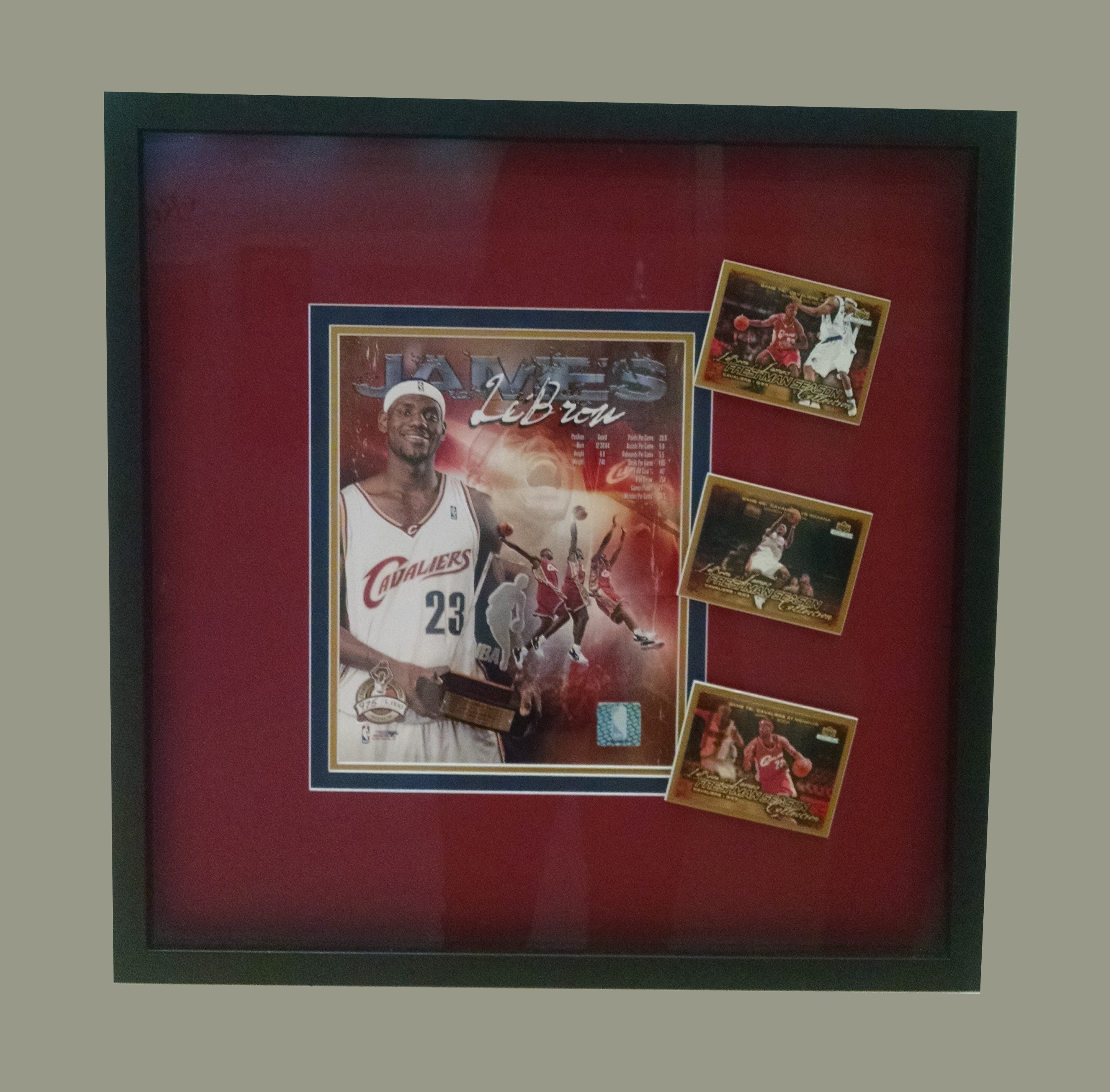 Memorabilia Framing - Allan Jeffries Framing